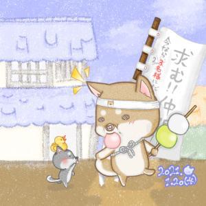 【お絵描き】団子ぉ