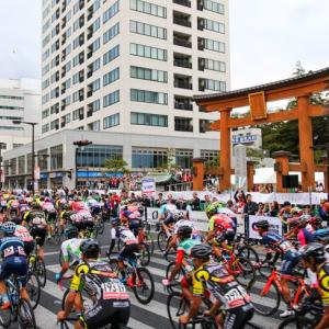 Autumn senary in Utsunomiya,which is famous for road bike festivals