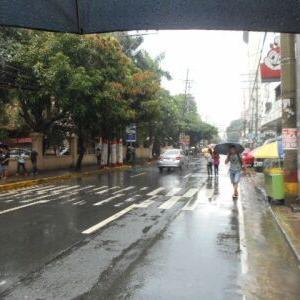 平日で、雨の日はなお良い。