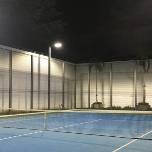 土曜日の我が家のテニス活動