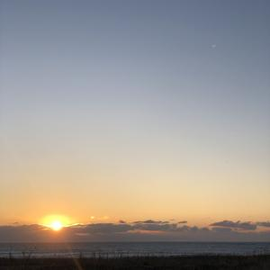 日本一早い初日の出 ここで見ました 根室半島 北海道