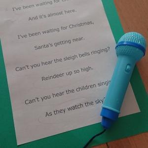 クリスマスコンサートに向けて練習中!