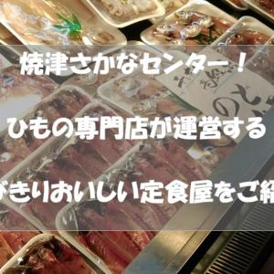 魚の街「静岡県焼津市」の観光スポット「焼津さかなセンター」にとびきり美味しい「ひもの定食」が出来てますよ!