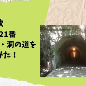 鉄道唱歌 東海道篇 21番「宇津の谷の洞の道」謎を調べてみた