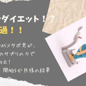 【長期レビュー】~ズボラ40代のメタバリアEXダイエット【5か月後の結果】~2021年5月