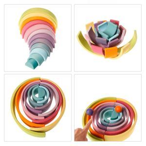 【増税前、出産祝いにもおすすめ】知育・療育を100倍楽しむ-グリム おもちゃ虹色トンネル(最安値購入編