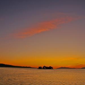 宍道湖 今日の夕景
