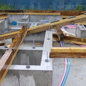 配管、土台敷(中編)