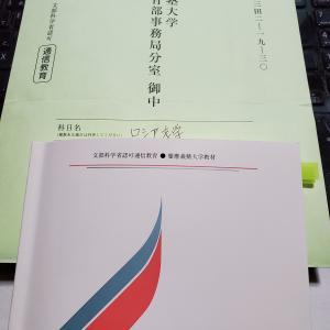 【科目試験】ロシア文学、代替レポ完成しました