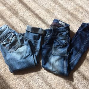 穴の開いたジーンズはすぐ手放す