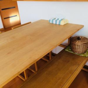 なるべく何も置かないテーブルにするための習慣
