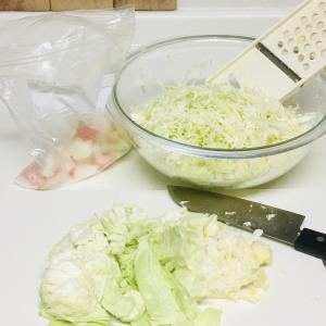 野菜を楽に使い切る~スライサーは無理しない