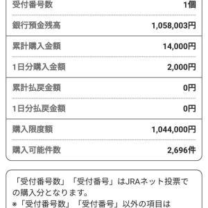 ★10月12日&13日&14日&15日結果【PAT照会画像付き】