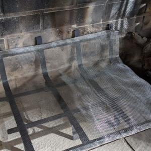 暖炉燃焼台の製作