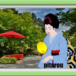 浮世絵 松島円通院にて 今年のライトアップは中止です。