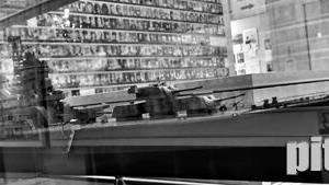 #7 宮城県護国神社 英霊顕彰館の重巡洋艦利根 11月20日撮影