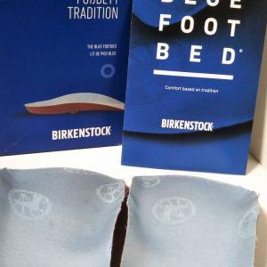 BIRKEN の中敷き (BLUE FOOT BED)