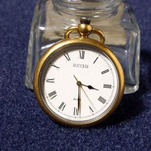 懐中時計 2-1 私のせいではありません(笑) (SEIKO ALBA SUCCESS)