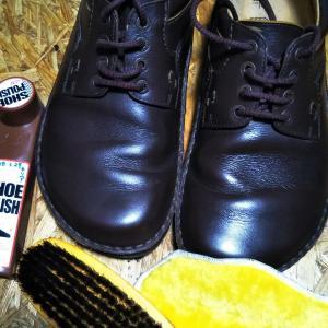 100均の靴クリーム(BIRKENSTOCK  茶  26.5㎝)