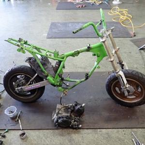 KSR80:車体分解