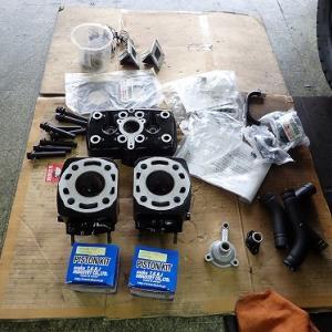 RZ250:エンジン組み・腰上編