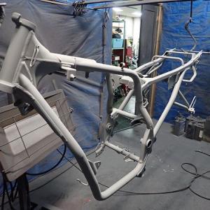ジェイド250:塗装、エトセトラ.