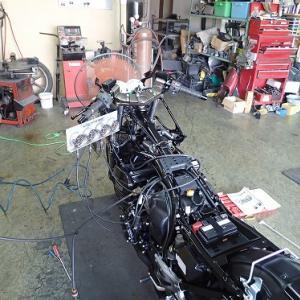 GPZ900R(A7):エンジン始動!!(ブログも再始動♪)