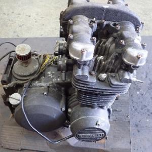 Z550FX:エンジン分解