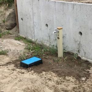 【着工記録②】水道管引込工事