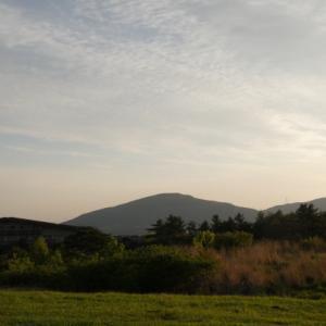 長者原温泉トライアル温泉郷の美しい朝を楽しみました。