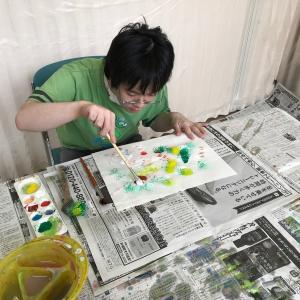 「無心」を感じる絵画教室