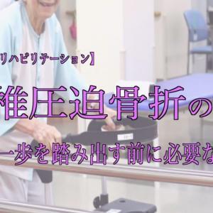 腰椎圧迫骨折の話 その⑦ 〜第一歩を踏み出す前に必要な事〜【白波百合とリハビリテーション】