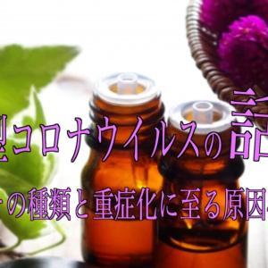 新型コロナウイルスの話 その② 〜その種類と重症化に至る原因〜