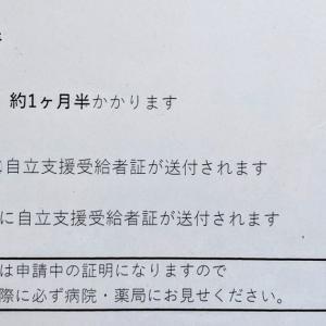 【自立支援医療制度】に認定され、病院・薬局での自己負担額が1割かつ1ヶ月の上限額が1万円になった話し