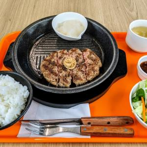 今更ながらも人生初の「いきなりステーキ」でハンバーグを食べて来た!