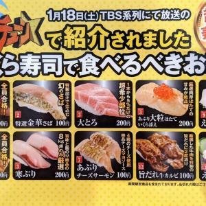 ジョブチューンという番組で紹介された「くら寿司で食べるべきお寿司!」とやらを実際に食べて評価してみた!