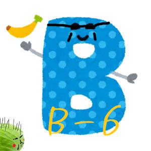 ビタミンB6 ~体のパーツを造り続ける職人堅気なマッチョに愛され栄養素~