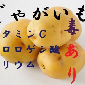 ジャガイモ~穀物に比べてカロリーは2割程度、ダイエット向き食材でビタミンCの宝庫ジャガイモの芽には毒ソラニンの危険性は?~