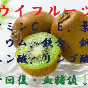 キウイフルーツ~ビタミンCはスッポン肉の69倍!果糖は何故太りやすい?舌や喉がピリッとするのはタンパク質分解されるから~