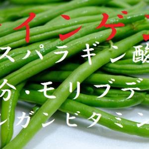 莢インゲン~野菜と豆の良いとこ取り、骨太効果・貧血予防・ボケ防止、効果と働き・保存方法・選び方~