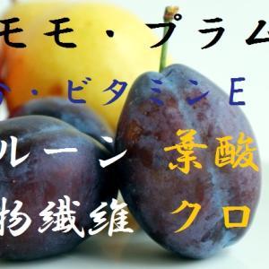 すもも・プラム・プルーン~プラムもプルーンも品種は違うけど同じスモモ、生プラムとドライプルーンの栄養素の違いは?~