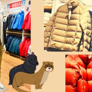 ウルトラライトダウンのワイドキルトジャケットとボリュームジャケット、特徴と違いとは?
