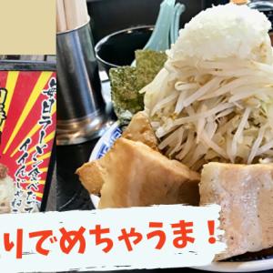 【二郎系インスパイア】山勝角ふじの山盛りラーメンを実食レポ 【南流山】