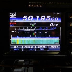 ◆礼文島と交信できた珍しい!50.225