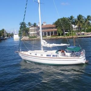◆辛坊さんヨット帰国も単独太平洋横断、昨日アメリカ出港!今日は誕生日の「鰻」