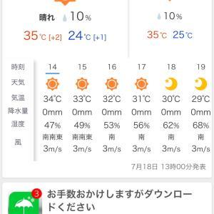 ◆暑い何と35℃、暑いわけだ、アイスクリーム、オリンピック記念局