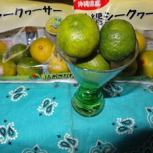 ◆沖縄シークワーサーを見つけた、いやいや手間がかかる?