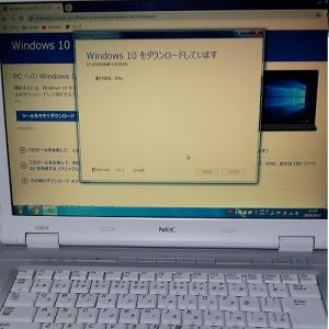 Windows10へバージョンアップだぁ!