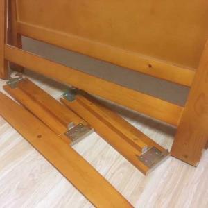 物置き台が壊れ…ベッドを再改造・修理【前編】
