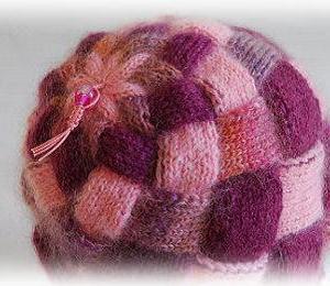 白樺編み帽子の編み始めを考える